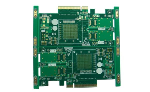 首页 产品中心 pcb电路板按工艺分类 沉金电路板 八层沉金线路板