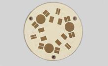 圆型铝基板(4)