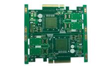 PCB工厂恒成和电路供应多层沉金电路板显卡金手指板